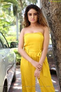 Sony Charishta Yellow Dress