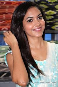 Ritu Varma at IKAT Mela Hyderabad