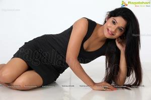 Katyayani Sharma in Black Frock