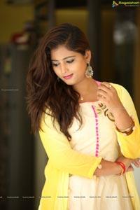 Teja Reddy Yellow Dress