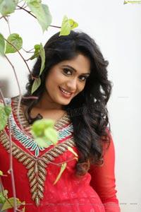 Sowmya Venugopal Red Dress