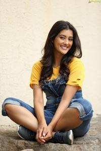 Pooja Jhaveri in Denim Jumpsuit