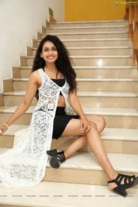 Nitya Naresh at Sutraa Logo Launch