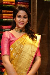 Lavanya Tripathi at Kanchipuram Kamakshi Silks Launch